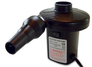 BacUp - Rygghöjarkudde inkl Luftpump - Elektrisk